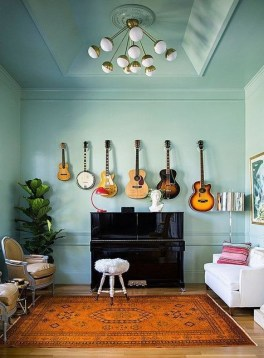 Cozy Bedroom Design Ideas With Music Themed That Everyone Will Like It 08