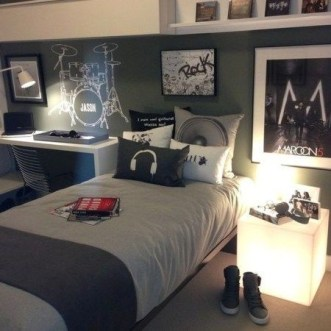 Cozy Bedroom Design Ideas With Music Themed That Everyone Will Like It 11