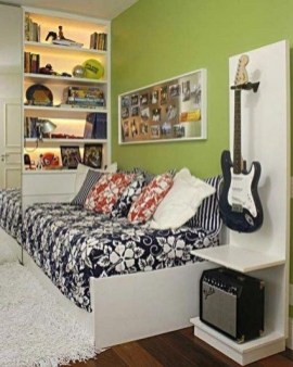 Cozy Bedroom Design Ideas With Music Themed That Everyone Will Like It 22