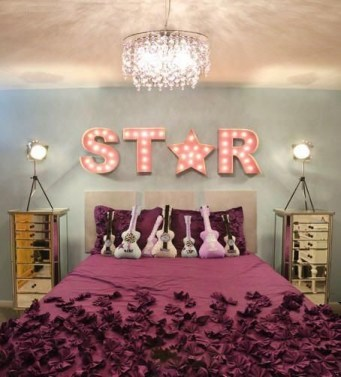 Cozy Bedroom Design Ideas With Music Themed That Everyone Will Like It 28