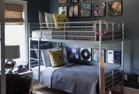 Cozy Bedroom Design Ideas With Music Themed That Everyone Will Like It 30