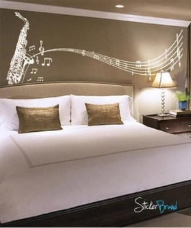 Cozy Bedroom Design Ideas With Music Themed That Everyone Will Like It 38