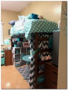 Cozy Dorm Room Design Ideas That Looks More Awesome 05