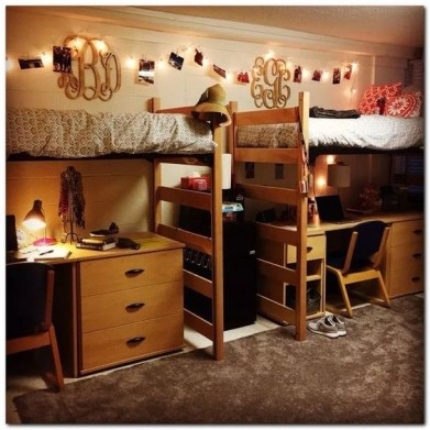 Cozy Dorm Room Design Ideas That Looks More Awesome 16