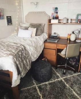 Cozy Dorm Room Design Ideas That Looks More Awesome 25