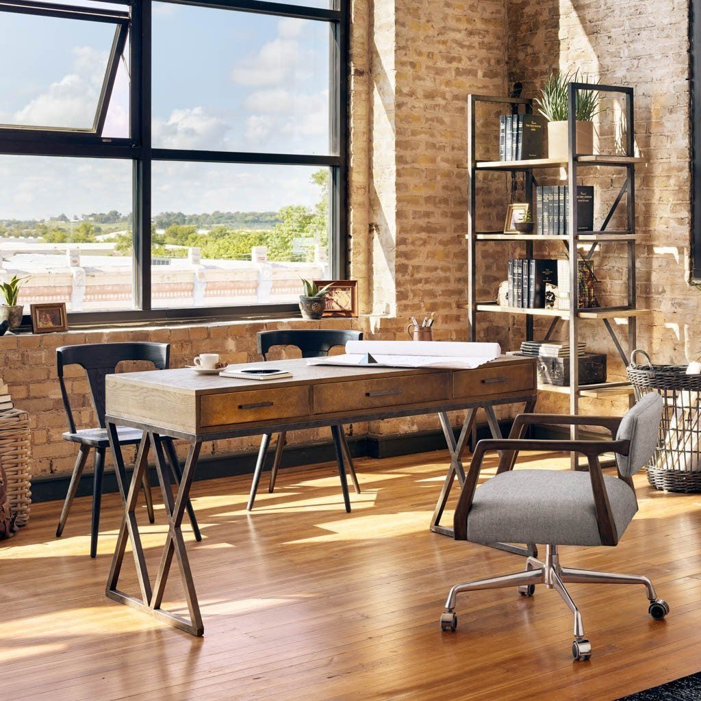 Delicate Two Seat Workspace Design Ideas To Try Right Now 10