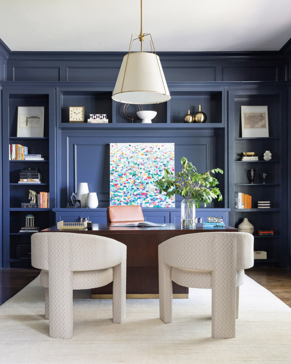 Delicate Two Seat Workspace Design Ideas To Try Right Now 31