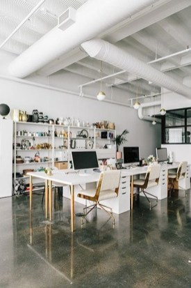 Delicate Two Seat Workspace Design Ideas To Try Right Now 35