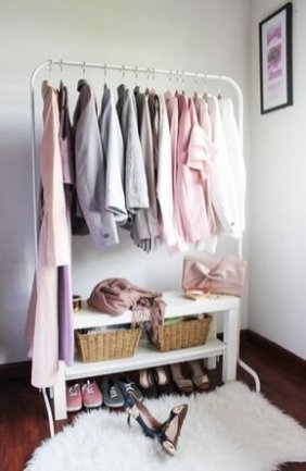Modern Clothing Racks Design Ideas For Narrow Space To Try Asap 26