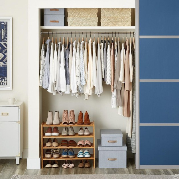 Modern Clothing Racks Design Ideas For Narrow Space To Try Asap 47