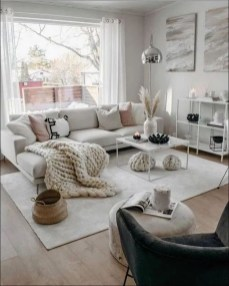 Modern White Apartment Design Ideas To Try Right Now 03