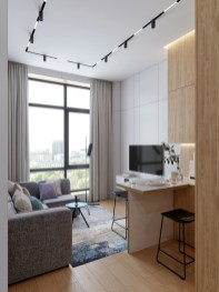Modern White Apartment Design Ideas To Try Right Now 28