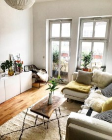 Modern White Apartment Design Ideas To Try Right Now 37