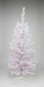 Pretty Pink Winter Tree Decorating Ideas That Looks So Awesome 13
