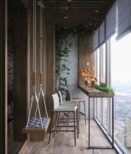 Relaxing Covered Balcony Design Ideas To Try In Apartment 48