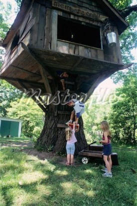 Sparkling Treehouse Design Ideas With Recycled Materials That You Should Have 18
