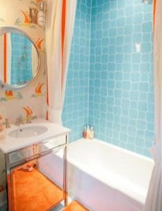 Top Fresh Orange Bathroom Design Ideas To Try Asap 02