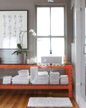 Top Fresh Orange Bathroom Design Ideas To Try Asap 06