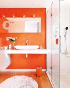 Top Fresh Orange Bathroom Design Ideas To Try Asap 11