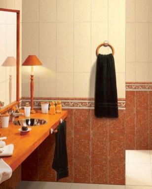 Top Fresh Orange Bathroom Design Ideas To Try Asap 16