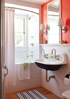 Top Fresh Orange Bathroom Design Ideas To Try Asap 22