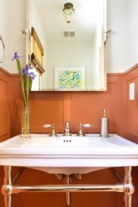 Top Fresh Orange Bathroom Design Ideas To Try Asap 27