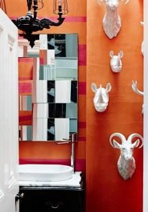 Top Fresh Orange Bathroom Design Ideas To Try Asap 28