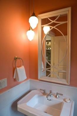 Top Fresh Orange Bathroom Design Ideas To Try Asap 33