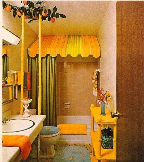 Top Fresh Orange Bathroom Design Ideas To Try Asap 38
