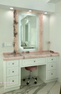 Affordable Home Decoration Ideas With Makeup Vanity That Can Inspire You 02