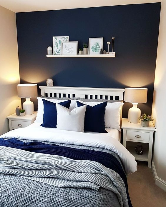 Amazing Bedroom Color Design Ideas For Cozy Bedroom Inspiration To Try 37