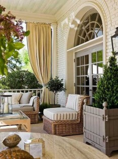 Amazing Classical Terrace Design Ideas To Try This Spring 21