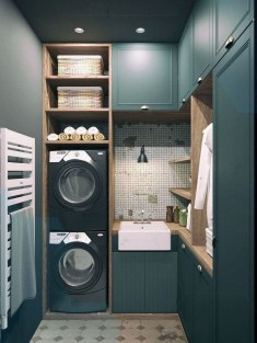 Astonishing Small Laundry Room Design Ideas For Organization To Try 01