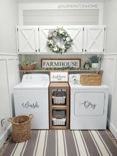 Astonishing Small Laundry Room Design Ideas For Organization To Try 05