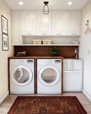 Astonishing Small Laundry Room Design Ideas For Organization To Try 06