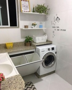 Astonishing Small Laundry Room Design Ideas For Organization To Try 13