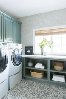 Astonishing Small Laundry Room Design Ideas For Organization To Try 32