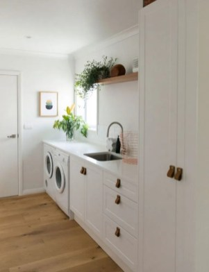 Astonishing Small Laundry Room Design Ideas For Organization To Try 33