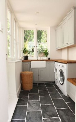 Astonishing Small Laundry Room Design Ideas For Organization To Try 36