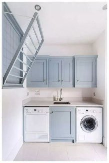 Astonishing Small Laundry Room Design Ideas For Organization To Try 38