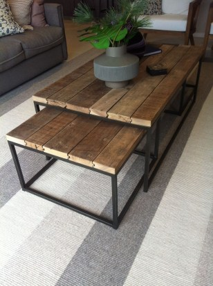 Awesome Diy Coffee Table Design Ideas With Cheap Material 15