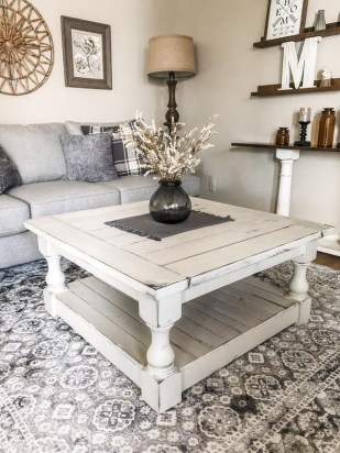 Awesome Diy Coffee Table Design Ideas With Cheap Material 17