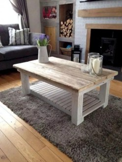 Awesome Diy Coffee Table Design Ideas With Cheap Material 21