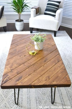 Awesome Diy Coffee Table Design Ideas With Cheap Material 24