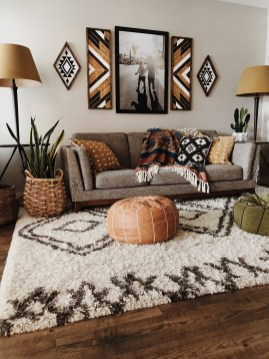 Awesome Living Room Wood Floor Decoration Ideas That You Need To Try 35