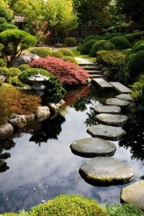 Best Japanese Garden Design Ideas That Looks So Stunning 44