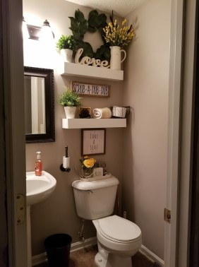 Brilliant Bathroom Wall Décor Ideas That Will Awesome Your Home 08