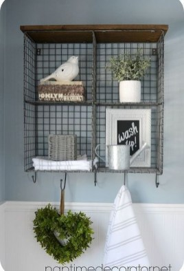 Brilliant Bathroom Wall Décor Ideas That Will Awesome Your Home 17
