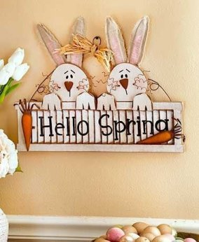 Charming Easter Wall Decoration Ideas That Inspire You Today 07