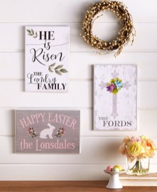 Charming Easter Wall Decoration Ideas That Inspire You Today 21